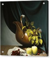Still Life Painting Zanndam Evening Acrylic Print