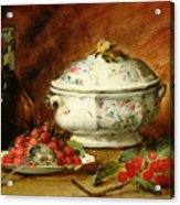 Still Life With A Soup Tureen Acrylic Print