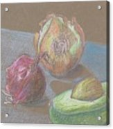 Still Life With Avacado Acrylic Print
