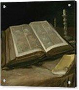 Still Life With Bible Nuenen, October 1885 Vincent Van Gogh 1853  1890 Acrylic Print