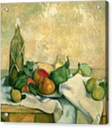 Still Life With Bottle Of Liqueur Acrylic Print