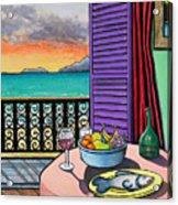 Still Life With Fish Acrylic Print by Joe Michelli