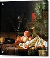 Still Life With Fruit Acrylic Print