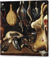 Still Life With Game Acrylic Print