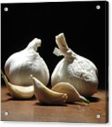 Still Life With Garlic Acrylic Print