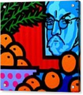 Still Life With Henri Matisse Acrylic Print