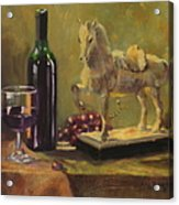 Still Life With Horse Acrylic Print