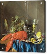 Still Life With Lobster 1655 Acrylic Print
