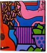 Still Life With Matisse  II Acrylic Print