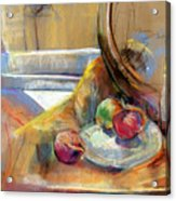 Still Life With Onions Acrylic Print