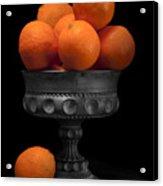 Still Life With Oranges Acrylic Print