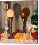 Still Life With Orbs Acrylic Print