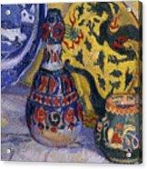 Still Life With Oriental Figures, 1913  Acrylic Print