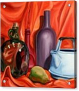 Still Life With Pear Acrylic Print