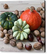Still Life With Products Of Autumn Acrylic Print