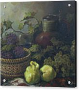 Still-life With Quinces Acrylic Print