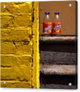 Still Life With Snapple Acrylic Print