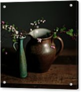 Still Life With Stoneware  Acrylic Print