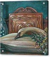 Still Life With Swan Acrylic Print