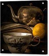 Still Life With Tea Cup Acrylic Print