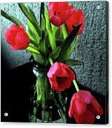 Still Life With Tulips Acrylic Print