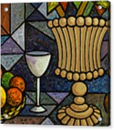 Still Life With Vase Acrylic Print