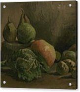 Still Life With Vegetables And Fruit Nuenen, Autumn 1884 Vincent Van Gogh 1853  1890 Acrylic Print