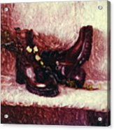 Still Life With Winter Shoes - 1 Acrylic Print