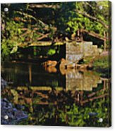 Still Water Reflections Acrylic Print