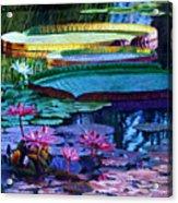 Stillness of Color and Light Acrylic Print
