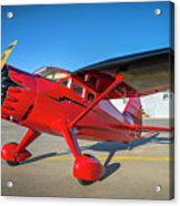 Stinson Reliant Rc Model 03 Acrylic Print