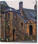 Stirling Castle Courtyard, Scotland Acrylic Print