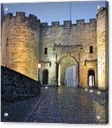 Stirling Castle Scotland In A Misty Night Acrylic Print