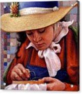 Stitch In Time Acrylic Print by Jane Bucci