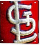@stlramscheer @cardinals Acrylic Print