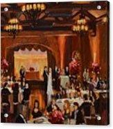 St.mary/marshall Wedding Acrylic Print