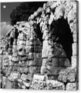 Stoa of Eumenes Athens Acrylic Print