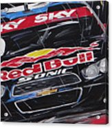Stock Car Brasil Caca Bueno Acrylic Print
