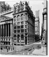 Stock Exchange, C1908 Acrylic Print