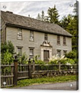 Stockbridge Mission House Acrylic Print