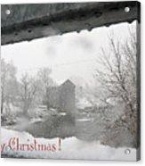 Stockdale Christmas Acrylic Print