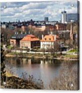 Stockholm From Skansen Acrylic Print