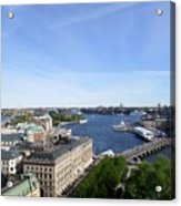 Stockholm In My Heart Acrylic Print