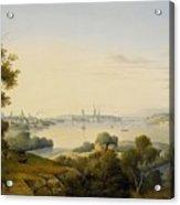 Stockholm Inlet Of Lake Acrylic Print