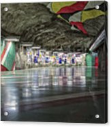 Stockholm Metro Art Collection - 012 Acrylic Print