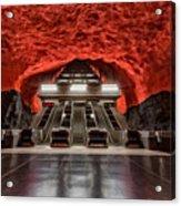 Stockholm Metro Art Collection - 014 Acrylic Print