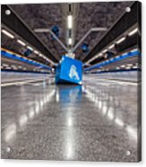Stockholm Metro Art Collection - 017 Acrylic Print