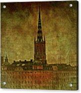 Stockholm Painting V Acrylic Print