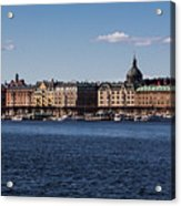 Stockholm Waterscape Acrylic Print
