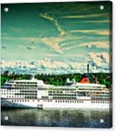 Stockholm X Acrylic Print